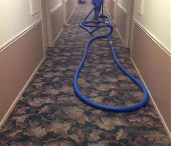 Commercial water damage – Fort Collins Office Building After